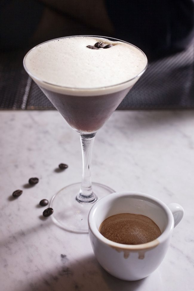 cocktail con caffè