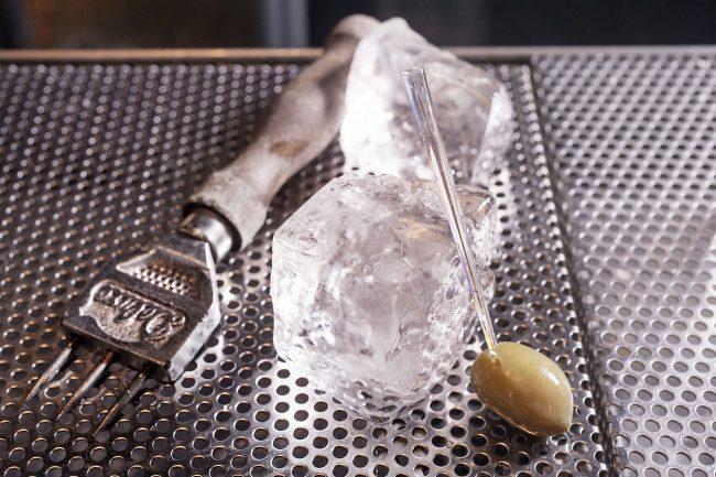 cocktailbar portofluviale ghiaccio