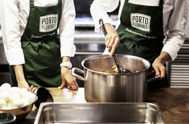 corsi di cucina salotto portofluviale