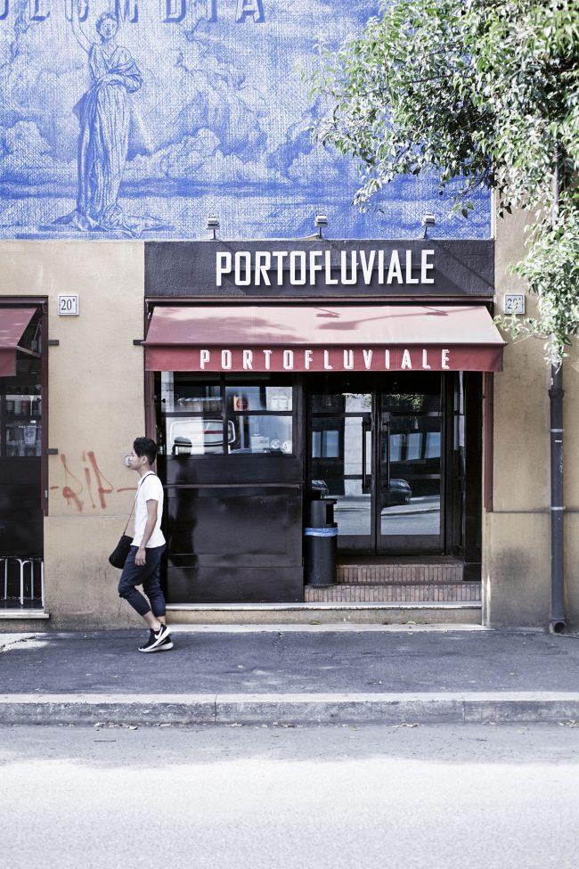 portofluviale entrata insegna